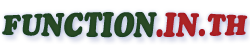 Function.in.th - Social Network for Programmer : Forum, Tutorial, Reference, Blog, Video